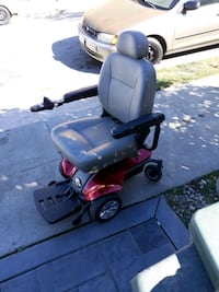 black and red mobility scooter San Bruno, 94066