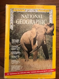 National Geographic 1969, Feb, Sept, Oct, fair condition  Brazoria, 77422