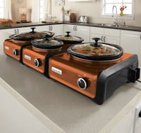 3 set connectable slow cookers Ashburn