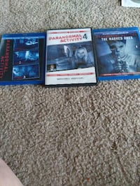 All 5 paranormal activity Lubbock