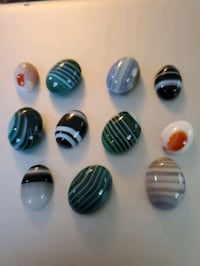 Natural colored stones