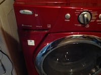 red Whirlpool front load washing machine Edmonton, T5A 3M8