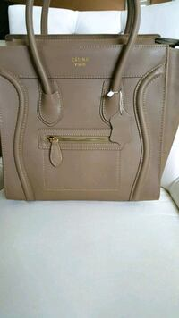 women's brown leather tote bag Mississauga, L5W 1P3