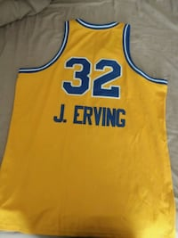yellow and blue Adidas Lakers 24 jersey Fredericksburg, 22401