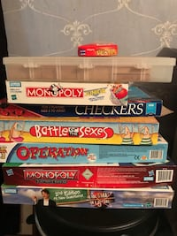 Games! Games!! games!! Jenga in the top clear box!! Smiths Station, 36877