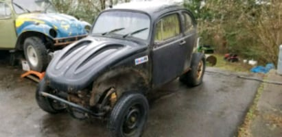 1970 vw beetle baja parting out