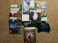 Xbox one s with 21 games  40 km