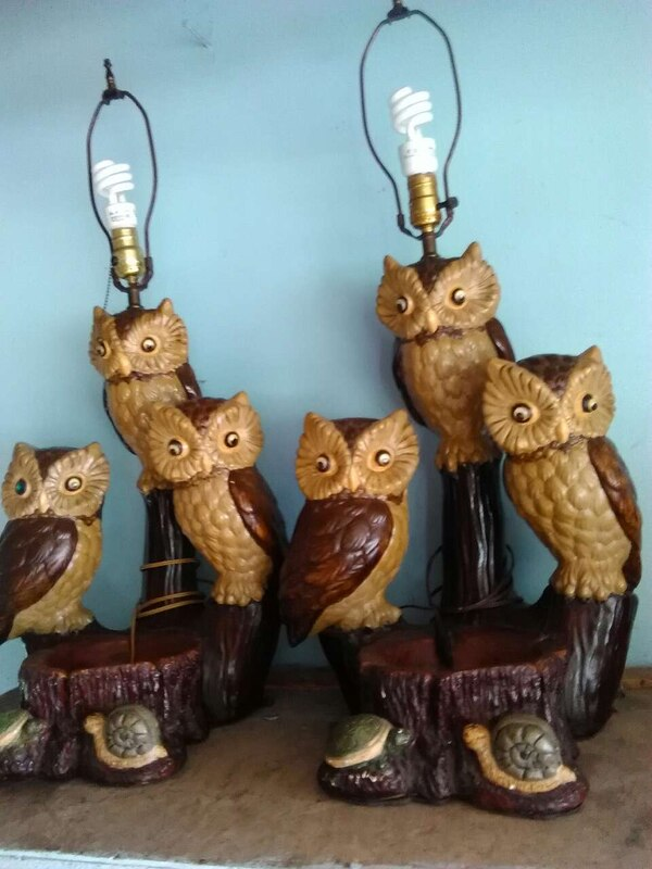Used Very Old Owl Lamps For In Shipshewana