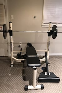 Powerhouse weight bench