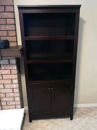 "2 bookcases..72"" x 30.5"" x 12.5""..brown"