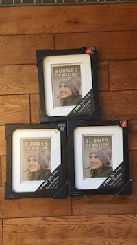 THREE BRAND NEW PICTURE FRAMES