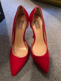 Size 5.5 suede like heels great condition Toms River, 08755