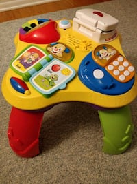 Fisher price learning table East Brunswick, 08816