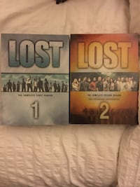 LOST DVD box set. Seasons 1&2 Ottawa, K2E 6J9