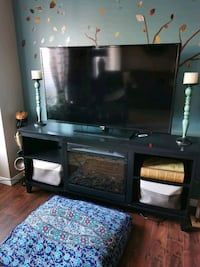 Fireplace / Cabinet- Black