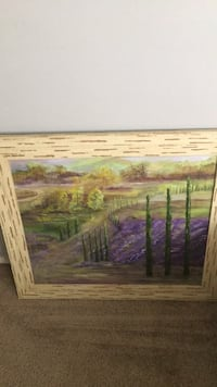 Lavender fields done by me  Los Angeles, 90042