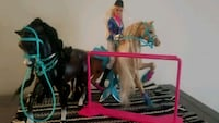 Rider barbie w/ two horses Woodbridge, 22192