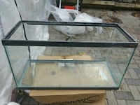 clear glass fish tank (as is) $40 OBO Ottawa, K1T 1H6