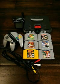 Nintendo 64 (N64) with 6 games! Mississauga, L5N 8G8