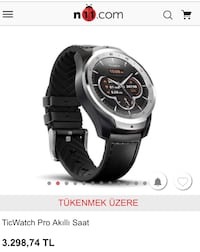 Ticwatch pro smart watch Tuzla, 34950