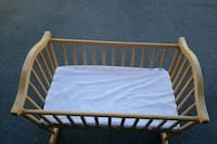 baby's brown wooden crib Anchorage, 99504