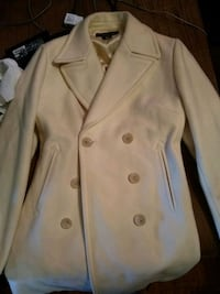 beige double-breasted coat Hamilton, 45013