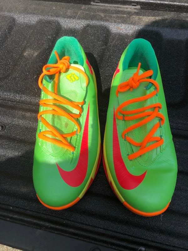 "Nike KD  (Kevin Durant) 6 GS ""Candy"" in flash lime/ 8c8d6449-8c47-4c66-bd3b-3d9343d204ff"