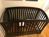 baby's brown wooden crib Potomac, 20854