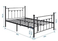 Queen Platform Bed Frame Arlington, 22203