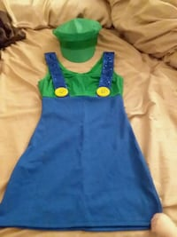 Costume Luigi Mini Dress and Hat Albuquerque, 87123
