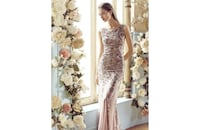 Mango evening dress