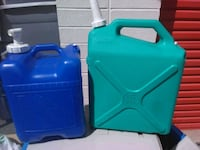 2 large water jugs