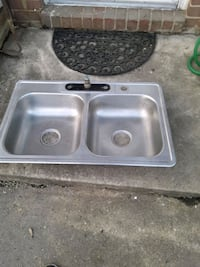 stainless steel sink with faucet Havre de Grace, 21078