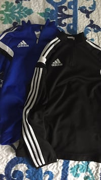 blue and white Adidas jersey shirt Blainville, J7C 2H8