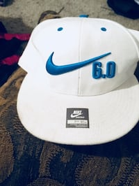 White and blue nike fitted cap Citrus Heights, 95610