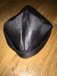 Genuine hats and one leather skully cap used for moto helmet