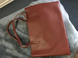 Vince Camuto Leather Brown Hand Bag