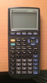 Texas Instruments TI-83 Graphing Calculater