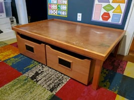Pottery Barn Storage table