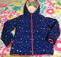 Gap sz 14-16 youth girl winter jacket in mint shape ...fluff at bottom is blue from jeans rubbing  Edmonton, T5W 0P7