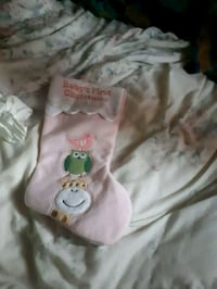 Baby's first Christmas stocking Edmonton, T5Y 0L8
