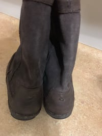 MENS BROWN LEATHER OKULAI BOOTS Helena, 35007