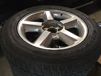 """20"""" Ltz wheels tires    The tires are like new with sensors have lugs and caps came off an 08 Tahoe  Paint Rock, 35764"""