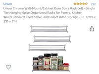 Herb Stainless Steal Shelving