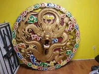 Hand carved Chinese dragon over 5 feet tall Sherwood Park, T8H 0P3