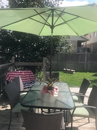 Black and green patio set Brampton, L6T 2W7