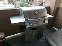stainless steel gas grill with propane tank Las Vegas, 89104