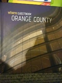 Orange County guestbook