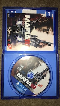 Sony PS4 Mafia 3 game disc with case Tallahassee, 32311