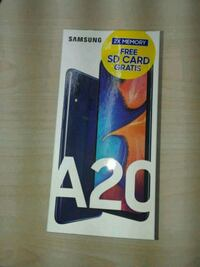 BRAND NEW SEALED SAMSUNG GALAXY A20 DUAL SIM 2019 Mississauga, L5V 2R8